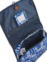 Beauty Case Roxy Blauw luggage RJBL3111-vue-porte