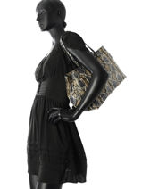Sac Shopping Fashion La pomme de loveley Multicolore fashion LPF15-13-vue-porte