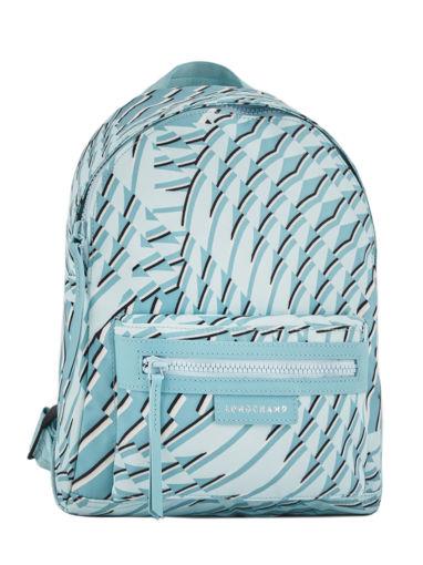 Longchamp Sac à dos Bleu