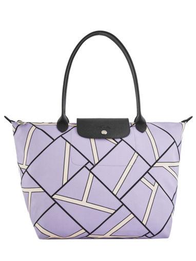 Longchamp Besace Violet