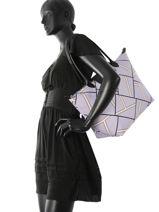 Longchamp Besace Violet-vue-porte