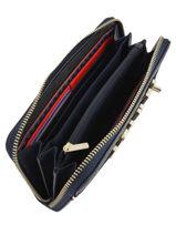 Portefeuille Cuir Tommy hilfiger Bleu accessoires AW05299-vue-porte