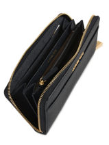 Portefeuille Cuir Michael kors Bleu money pieces S7GM9E9L-vue-porte