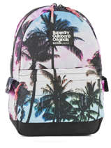 Sac à Dos 1 Compartiment Superdry Multicolore backpack woomen G91001NQ