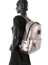 Sac à Dos 1 Compartiment Superdry Rose backpack woomen G91004NQ-vue-porte