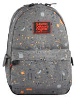 Sac à Dos 1 Compartiment Superdry Gris backpack men M91004JQ