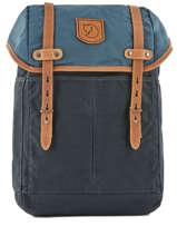 Sac à Dos 1 Compartiment + Pc 15'' Fjallraven Bleu rucksack 24205