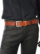 Riem Redskins Bruin belt FARGO-vue-porte