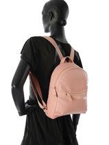 Longchamp Sac à dos Rose-vue-porte