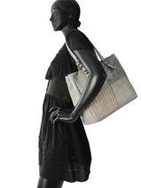 Sac Shopping Gabrielle Miniprix Gris gabrielle MD1051-vue-porte