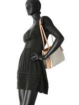 Sac Shopping Rogue Cuir Coach Blanc rogue 28484-vue-porte