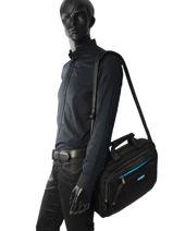 Porte-ordinateur American tourister Noir at work 33G005-vue-porte