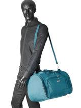 Sac De Voyage Cabine Snow Travel Bleu snow - 00122083-vue-porte