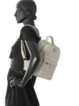 Sac à Dos Miniprix Gris backpack M9337-vue-porte