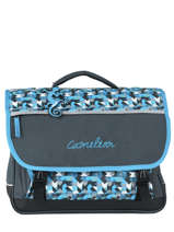 Cartable 3 Compartiments Cameleon Bleu new basic NBA-CA41