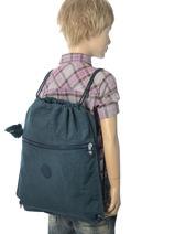 Sac De Sport Kipling Bleu back to school / pbg PBG09487-vue-porte
