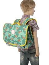Cartable Jp by jeune premier Vert jp bags PAL18-vue-porte