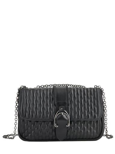 Longchamp Amazone matelassÉ Besace Noir