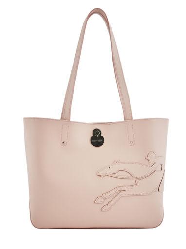 Longchamp Shop-it Besace Rose