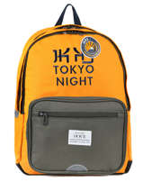 Sac à Dos 2 Compartiments Ikks Jaune backpacker in tokyo 18-63836