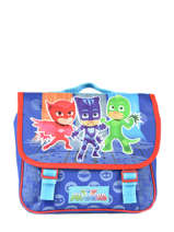 Cartable 1 Compartiment Pjmasks Bleu go go go 610-8922