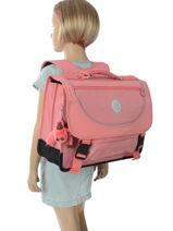 Cartable 2 Compartiments Kipling Rose back to school capsule 778-vue-porte