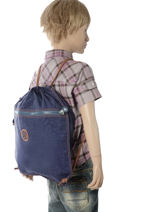 Sac De Sport Kipling Bleu back to school 9487-vue-porte