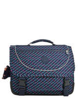 Cartable 2 Compartiments Kipling Bleu back to school 12074