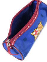 Trousse 1 Compartiment Fc barcelone Bleu we are 490-8125-vue-porte