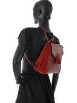Longchamp PÉnÉlope soft Sac à dos Rouge-vue-porte