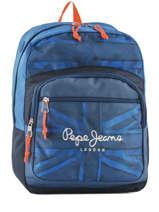 Sac à Dos 1 Compartiment Pepe jeans Bleu fabio 60923