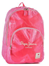 Sac à Dos 2 Compartiments Pepe jeans Rose kasandra 60624
