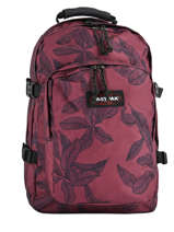 Sac à Dos 2 Compartiments + Pc 15'' Eastpak Rouge authentic k520