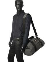 Reistas Voor Cabine Authentic Luggage Eastpak Grijs authentic luggage K735-vue-porte