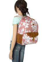 Sac à Dos 1 Compartiment Roxy Noir back to school RJBP3734-vue-porte