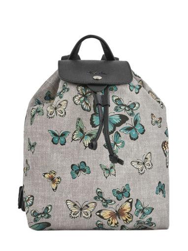Longchamp Le pliage papillon Sac à dos Noir