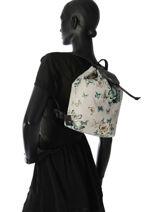 Longchamp Le pliage papillon Sac à dos Noir-vue-porte