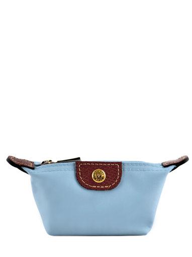 Longchamp Porte monnaie Bleu