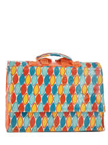 Cartable 1 Compartiment A4 Les skewies Multicolore glossy HYBRIDE