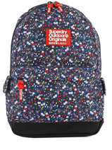 Sac à Dos 1 Compartiment Superdry Noir backpack woomen G91008NQ