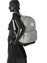 Sac à Dos 1 Compartiment Superdry Gris backpack woomen G91077DQ-vue-porte