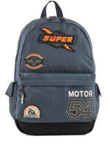 Sac à Dos 1 Compartiment Superdry Bleu backpack men M91011NQ