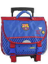 Cartable à Roulettes Fc barcelone Bleu we are 490-8799