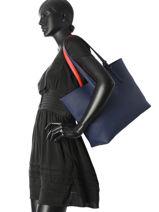 Omkeerbare Shoppingtas Anna Lacoste Blauw anna NF2142AA-vue-porte