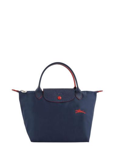 Longchamp Le pliage club Sac porté main Bleu