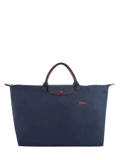 Longchamp Le pliage club Sac de voyage Bleu