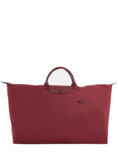 Longchamp Le pliage club Sac de voyage Rouge