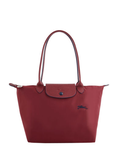 Longchamp Le pliage club Besace Rouge
