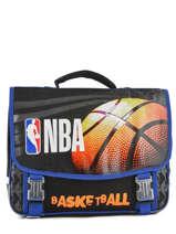 Boekentas 2 Compartimenten Nba Zwart basket 183N203S