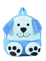 Sac à Dos Mini Animal Bleu kids KIDNI02